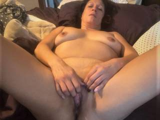 Melissa loves to masturbate....regardless of how much sex she is getting.....good girl!
