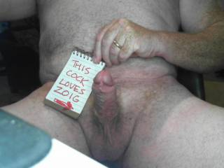 A genuine photo of my hard thick cock