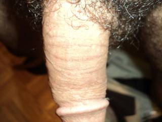 Would love to see your cock buried in my wife's pussy!