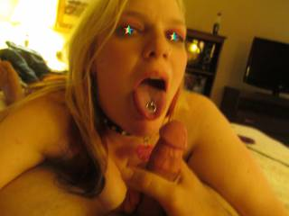 This is me after I Sucked off my Hot Teacher, he came in my mouth, :*