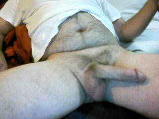 you like hairy belly and cock or shaved cock and belly better? comments plz