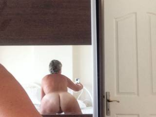 Teasing from the hotel room