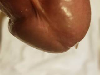 Close up pic about our friend\'s precum cock... He shot some pics about me (asked by us) and he wasn\'t able to keep calm... i\'ve seen he got rockhard during shooting me, i asked to show his beauty dick for us... did it, and more...