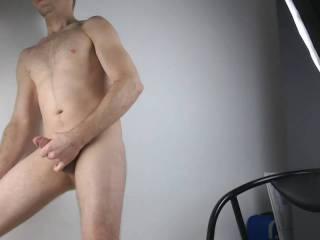 Hetero mastrubating real woman friendly for a gay public.