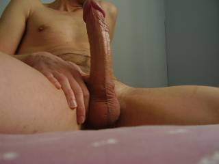 Feeling very horny! Who wants a piece of my hard long cock?
