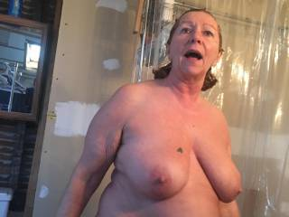 me after a shower just had fun with my neighbor