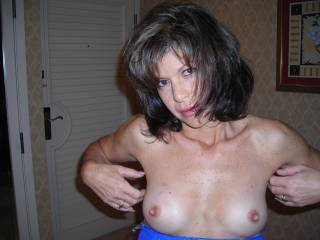 kiss, suck, tease, bite, pinch, twist, torture.... and make you cum.. YOU are lovely and your man is one lucky man. I dream that you love your nipples worked over!