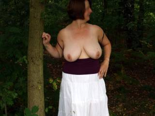 Her tits looks amazing, and when you've got boobs like that, why not show them off.