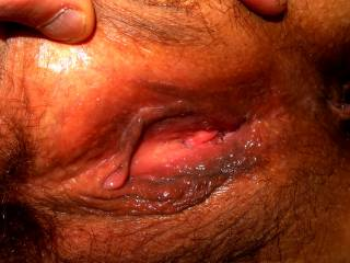 juicy pussy dripping with wetness thinking about eating a friends hairy pussy