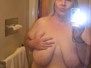 Really love those nice tits and that very hot body,love bbw and she is very beautiful!!