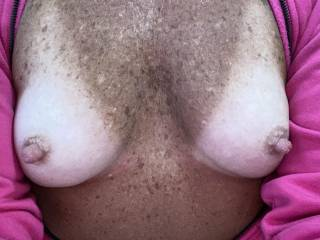 Cum all over my chest