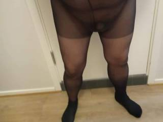 Do you get horny wearing a panty hose?