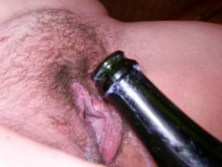 Champagne, Cream, Pussy - Come and eat me boys?