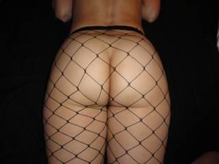 Love that ass in fishnet