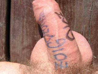 can I lick all that off your uncut lovely dick ?