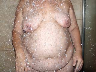 Would you like to get naked and wet with me?
