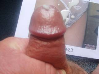 Sexy your big pussy and panties let me cum over and over want to see more please it was very nice to cum on your picture thanks ???Hope you like it !!!!