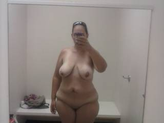 Damn your body rocks my cock.  I'd love to fuck you in that dressing room and post the pics and vids on zoig tonsee what kind of comments you'd get.