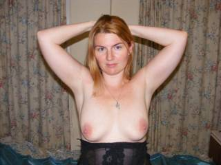 I think that I like everything about you especially your tits and the fact that your nipples are as hard a tungsten!