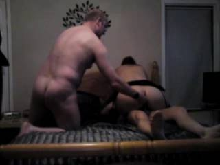 me and the mate fucking a mature slut, with a little dp at the end