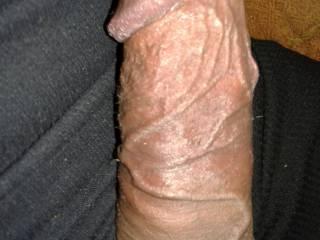 uncut cock with huge veins 8