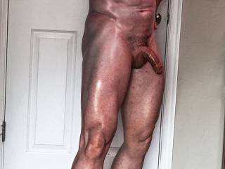Oh yeah, sweetie, flex that delicious cock right into my mouth....and let me flex it to orgasm.  Face fuck me good with that gorgeous cock.  Feed me all of your cock and your cum.  That's what I call having fun.  Nice body.  MILF K