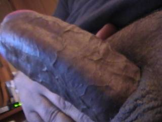 hubby's fat latin cock