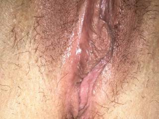 Mmmmmm then allow me to lick and eat your sweet, wet pussy...looks mouth watering delicious!!
