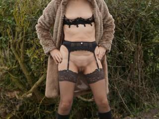 Outdoor fun in fur