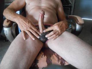 at the office feeling horny