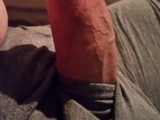 It's gotten really hard and poked out on my boxer-briefs.. now what am I going to do..? Tell me what you think I should do.. message me.