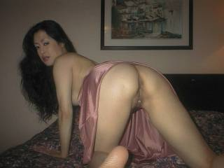 that is one amazing ass and lovely pussy