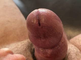 Love touching my cock.