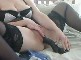 Entertaining hubby while he recorded. Cum with me