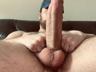 I was waiting for my best friends wife and her bestfriend to have a 3some with but before they wanted to do a photo shoot of my 11inch fat cock lol nothing special but I wanted too share hope yall like!!!!
