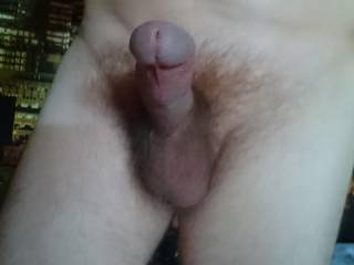 Feel very excited to show you my cock, I hope you will appreciate