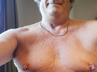 Strong nipple magnets are fun to use... but not for long periods of time!