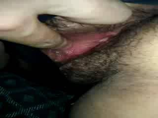 Fingering my Mistress before she let me eat her out she was so wet you can hear it and see it gilsen