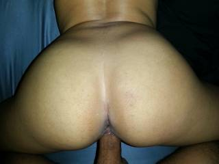 this asian girl loves getting my cock from behind