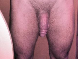 """In anticipation of a """"cum on photo"""" session I jelqed my lingam / flaccid stretched yank... thoroughbred toned legs, flat stomach, thin waist, and easy grip hips"""
