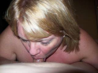 Mrs Daytonohfun bearing down on my cock during a recent play date as her hubby watched before we fucked