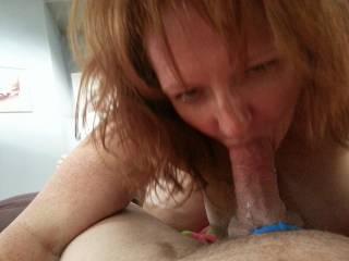 Mmmmmmm I love to have you sucking on my hard cum filled cock sexy lady mmmmmm