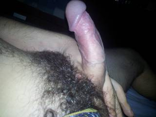 Want to make your beautiful hairy cock squirt a hot load!!!