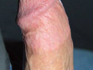 yum,yum  thick meaty cock and a head worth slurping on!!
