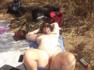 fun at nude beach