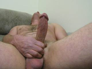 Nothing feels better than stroking my Hard cock  Do you want to play with me ?