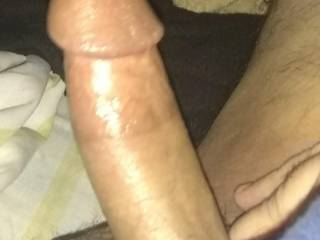 Just a pic of my hard dick.