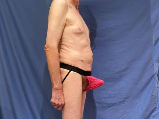 The issue with these undies is what is revealed when \'He\' stretches them with \'His\' erection.