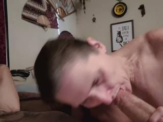 My Cock gets Rock Fucking Hard when its getting Sucked!!
