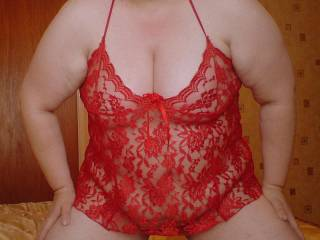 Your Looking so Hot and sexy in Red,I just want to lick you all over. Love those tasty tities...